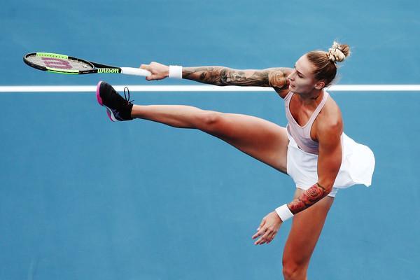 Uspešen povratek Polone Hercog na WTA turnejo. (Foto: zimbio.com)