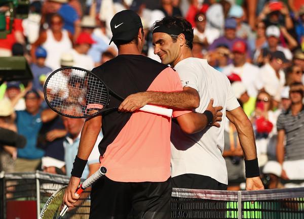 RogerFedererMiamiOpen2018Day6dQLOdoHesiLl - Kokkinakis izločil Federerja in spisal zgodovino