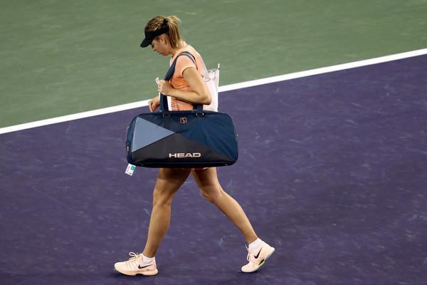 Maria Šarapova ekpresno hitro zapušča Indian Wells. (Foto: zimbio.com)