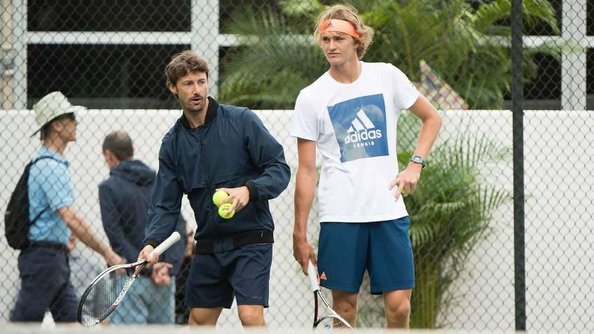 alexander zverev and juan carlos ferrero split here is why - Ferrero in Zverev zaključila s prepirom v medijih