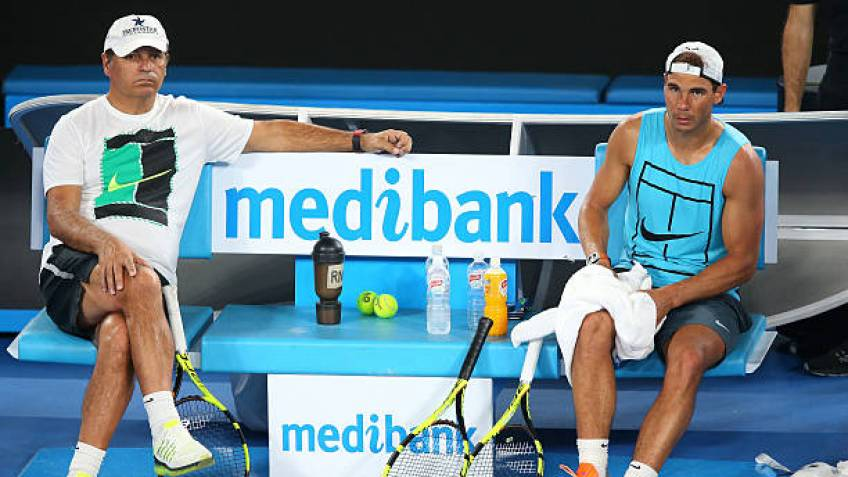"toni nadal rafa has been dealing with pain and painkillers since 2005  - Toni Nadal: ""Rafa se spopada z bolečinami že od leta 2005"""