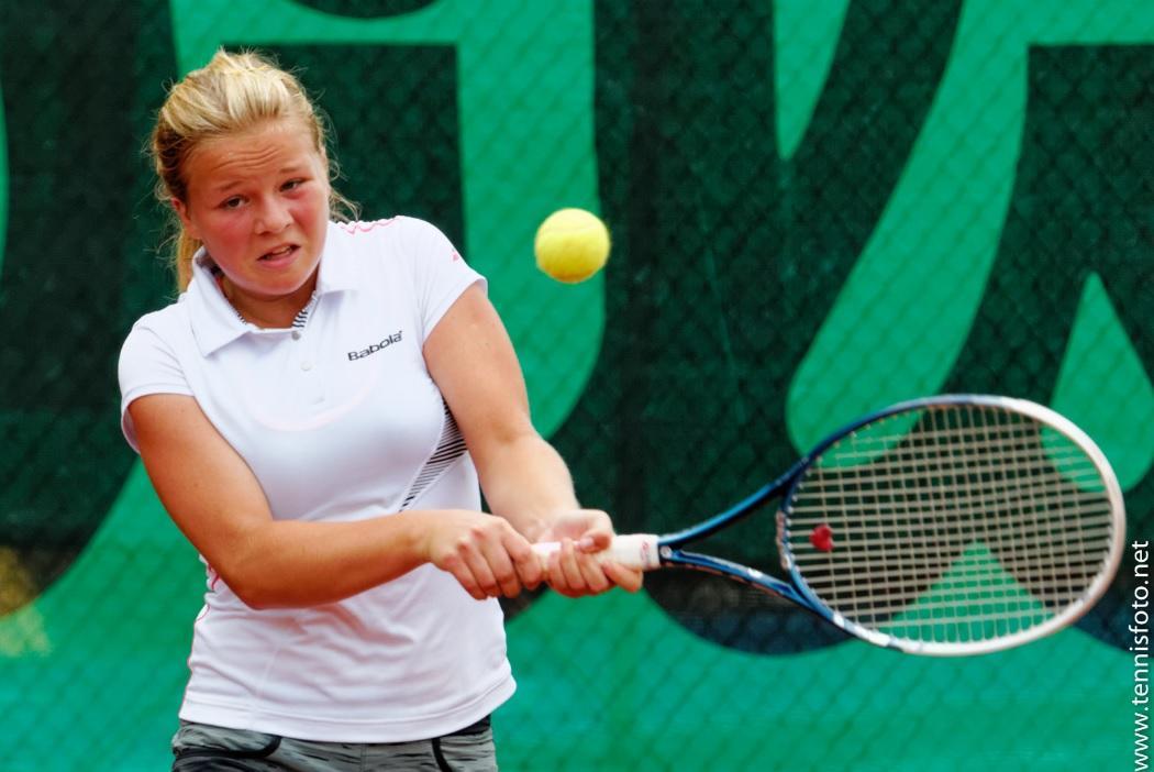 18-letna Veronika Erjavec suverena v 1. krogu ITF turnirja v Turčiji. (Foto: tennisfoto.net)