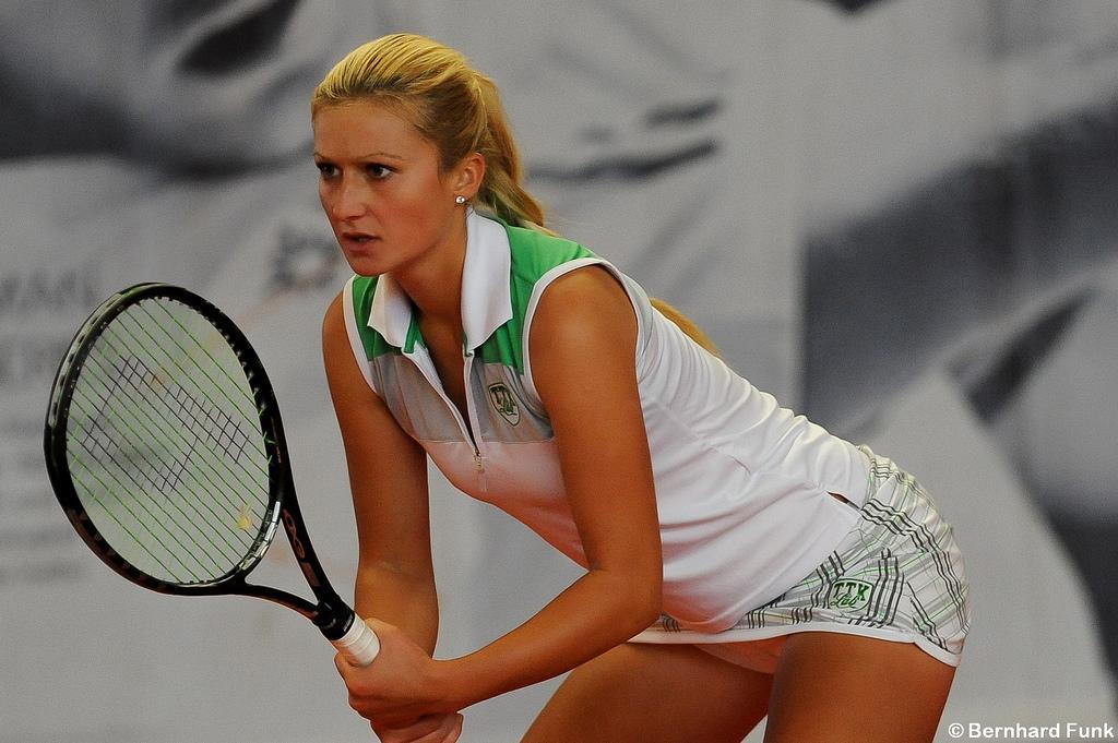 Dalila Jakupović poražena v 1. krogu WTA turnirja v Monterreyju. (Foto: Bernhard Funk)