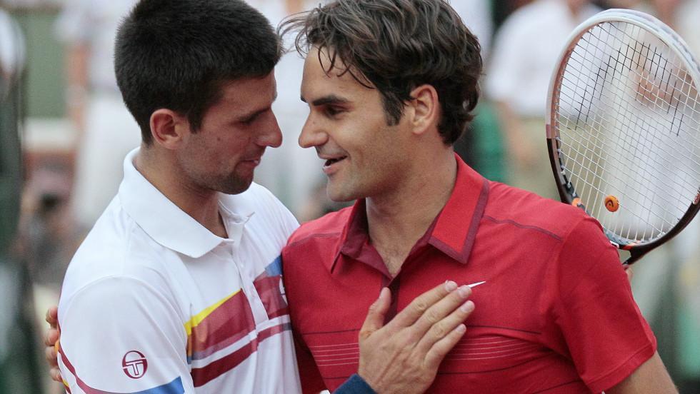 Djokovic Federer - Novak Đoković in Roger Federer: Rivalstvo skozi leta