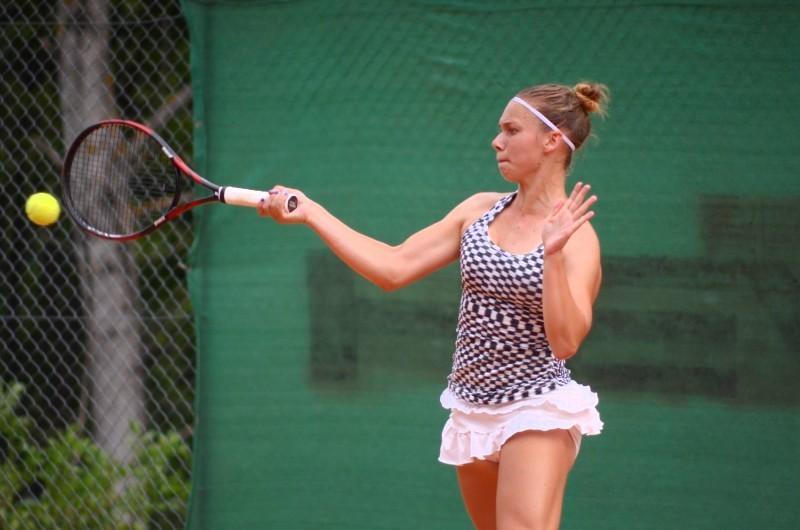 Pia Čuk prekratka v četrtfinalu Futuresa v Tuniziji. (Foto: friulionline.com)