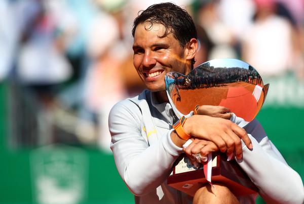 Rafael Nadal v Monte-Carlu brez konkurence. (Foto: zimbio.com)