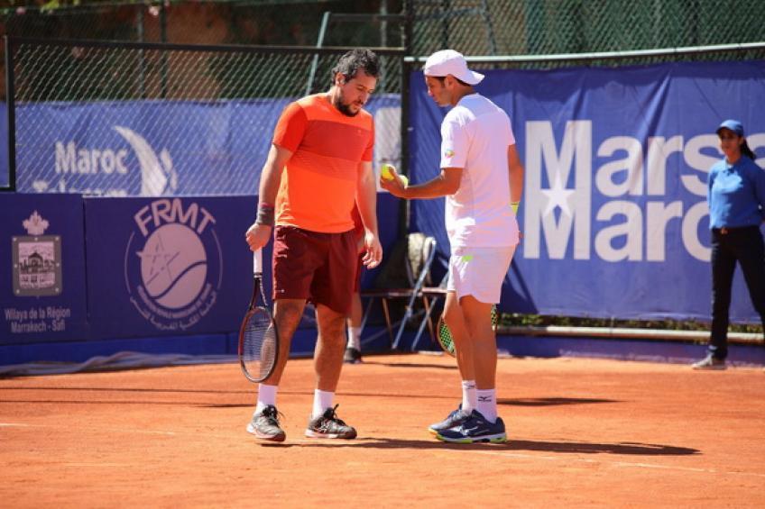 atp marrakech african legend ouahab stuns kohlschreiber gasquet wins - ATP Marrakech: Čudni prizori ob zmagi Laminea Ouahaba