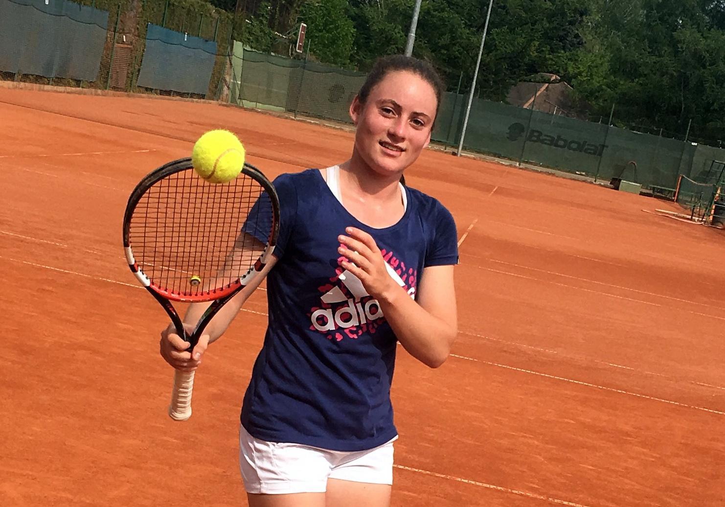 Tamara Zidanšek dobre igre iz kvalifikacij prenesla tudi v glavni del turnirja. (Foto: novice.si)