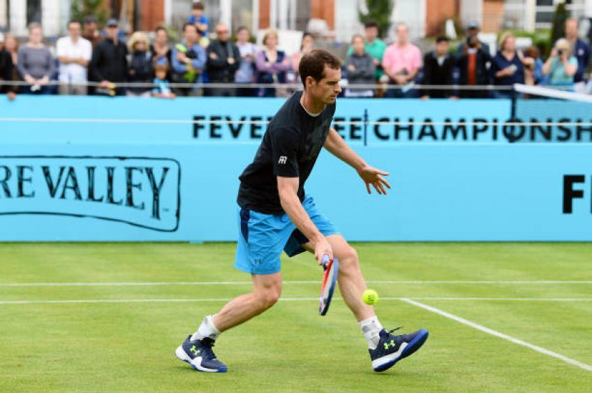 andy murray did rehab for six to eight hours a day - Queen's Club hrani posebno povabilo za Andyja Murrayja
