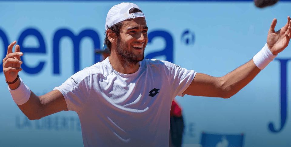 Zajeta slika - ATP profil: Matteo Berrettini