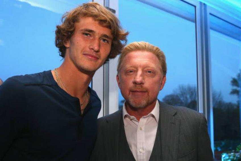 boris becker praises zverev there is a life for tennis in the future - Dražba Borisa Beckerja se bo nadaljevala