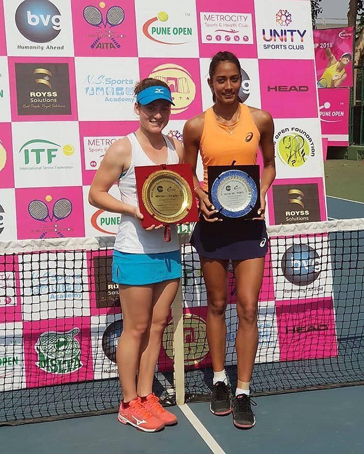 tamaraa - ITF: Zidanškova do naslova v Indiji, Radišičeva v Egiptu!