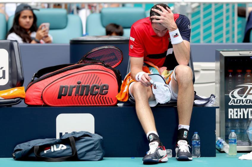 john isner roger would have won with or without my injury  - Isner odpovedal Roland Garros