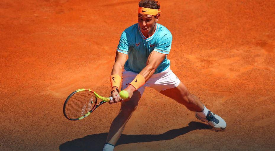 42345235 - V značilnem slogu; Nadal je Francozu prepustil eno igro