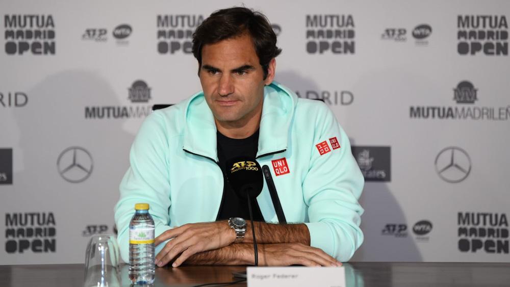 """Madrid 2019 domingo previa FEDERER - Roger Federer: """"Pesek je bil prvi"""""""