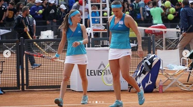 andreja - Klepačeva v Rimu obstala v četrtfinalu
