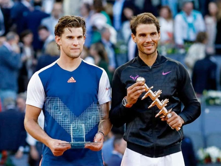 facing rafael nadal with onehanded backhand is an advantage thiem - Izjema Thiem kljubuje nenapisanemu pravilu