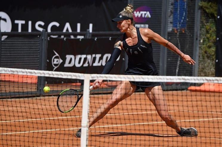 poli 1 - Črn dan za slovenski tenis v Rimu