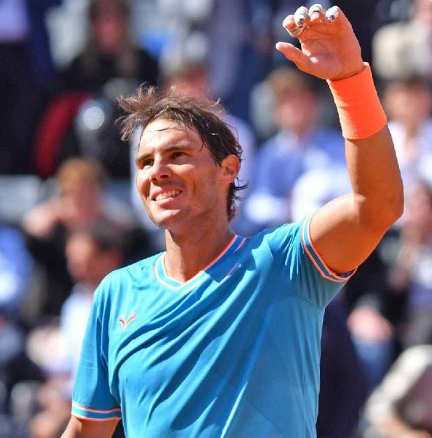 rako - Nadal mimo Tsitsipasa do 11. finala v Rimu
