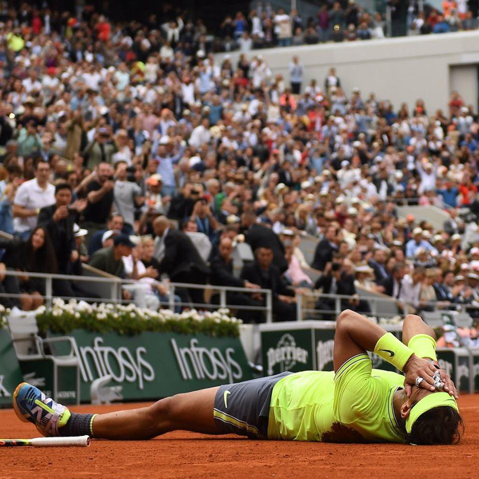 62492631 10157549652498958 5974323358689394688 n - Rafaelu Nadalu še 12. Odprto prvenstvo Francije