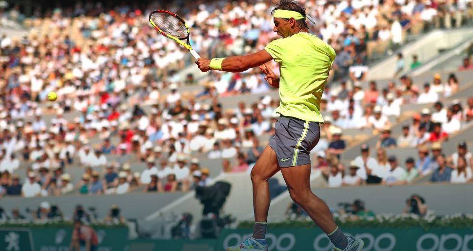 e4343 - Nadal z 90. zmago na Roland Garrosu do četrtfinala