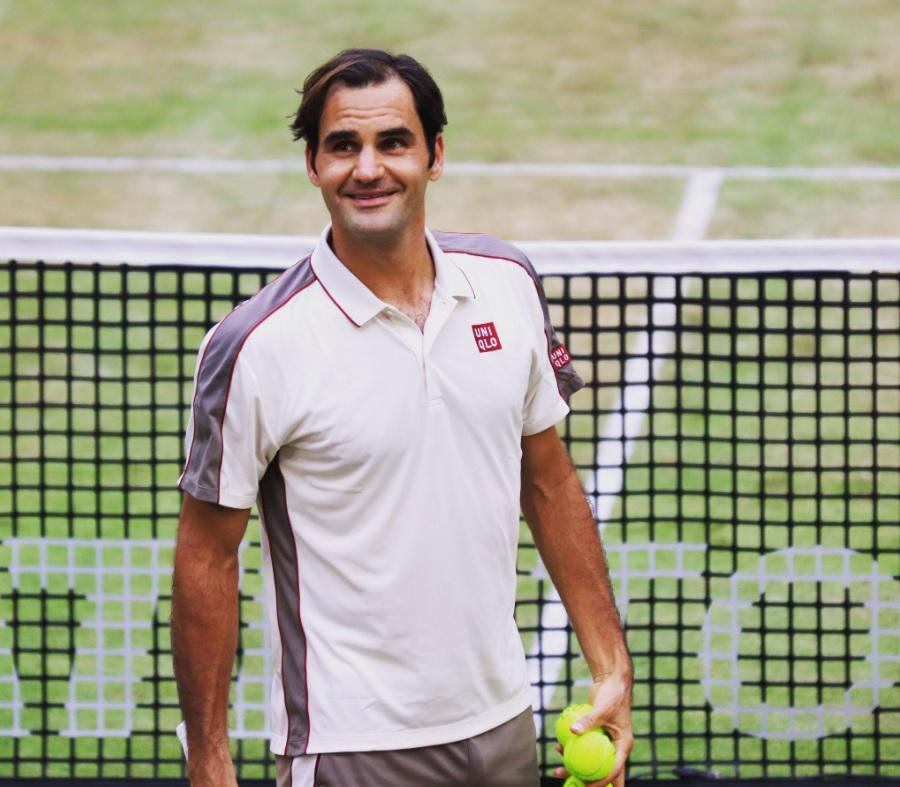 fzfzgu - Federer petnajstič zapored v polfinalu Hallea