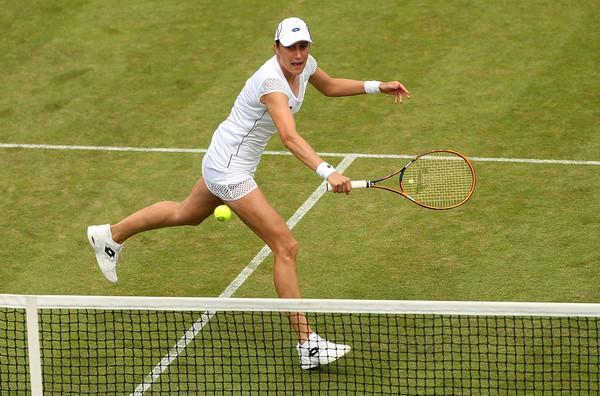 Srebotnikova na letošnjem Wimbledonu brez zmage. (Foto: zimbio.com)