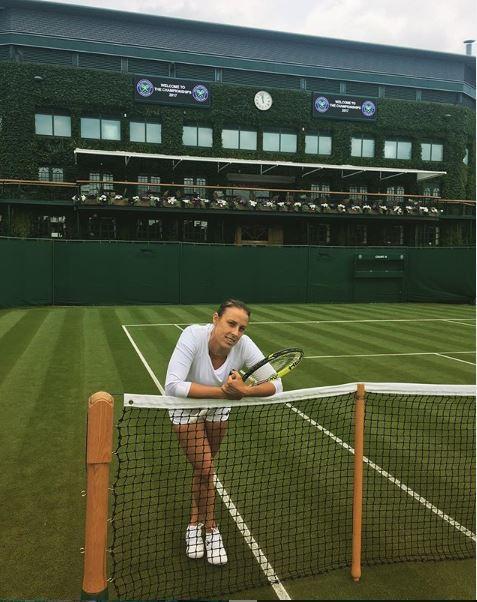 Klepačeva v Wimbledonu ostala brez polfinala. (Foto: Instagram)