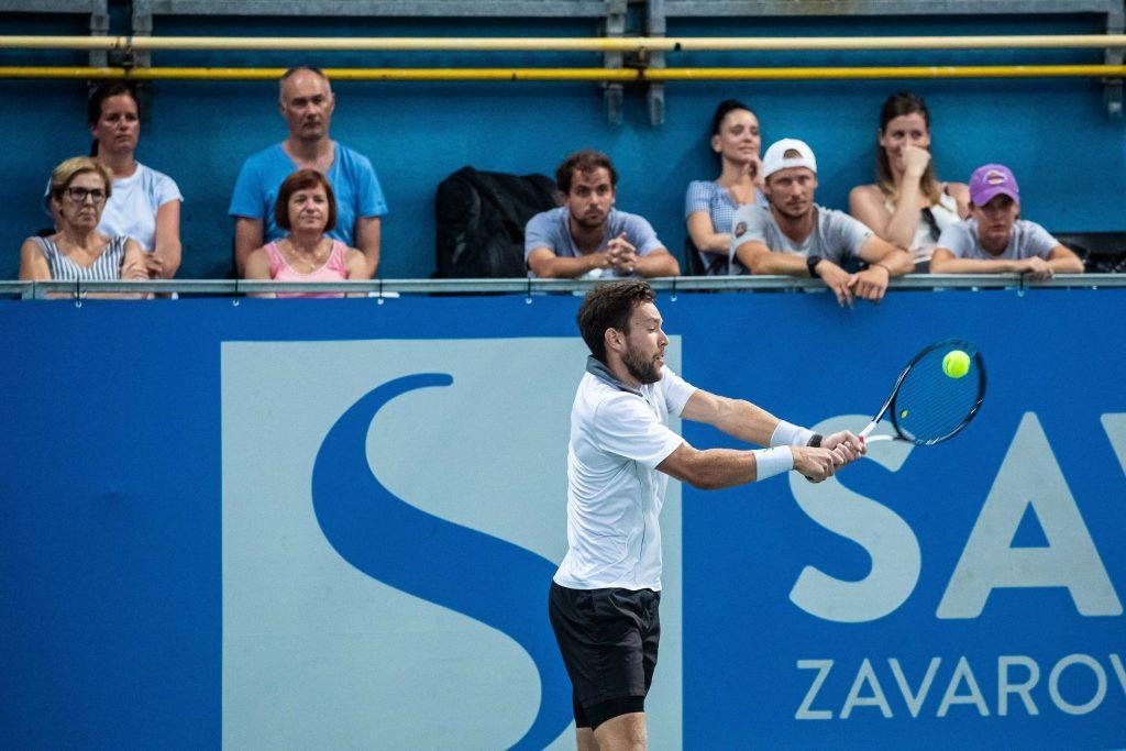 Sven Lah Tenis ATP Portoroz2019 day2 1314 190810 GV 1024x683 - ITF: Erjavčeva uspešno skozi kvalifikacijsko sito v Budimpešti, napredoval tudi Lah