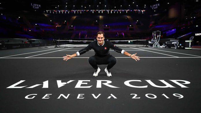 "federer laver cup 2019 preview court 1 696x392 - Pokal Laver ""napovedal vojno"" Rolandu Garrosu"