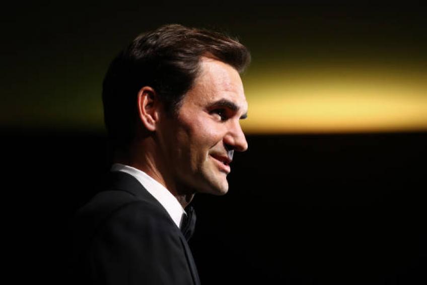 roger federer i am not so good at cooking my daughters have the control  - Federer sprejel odločitev glede peščene sezone 2020