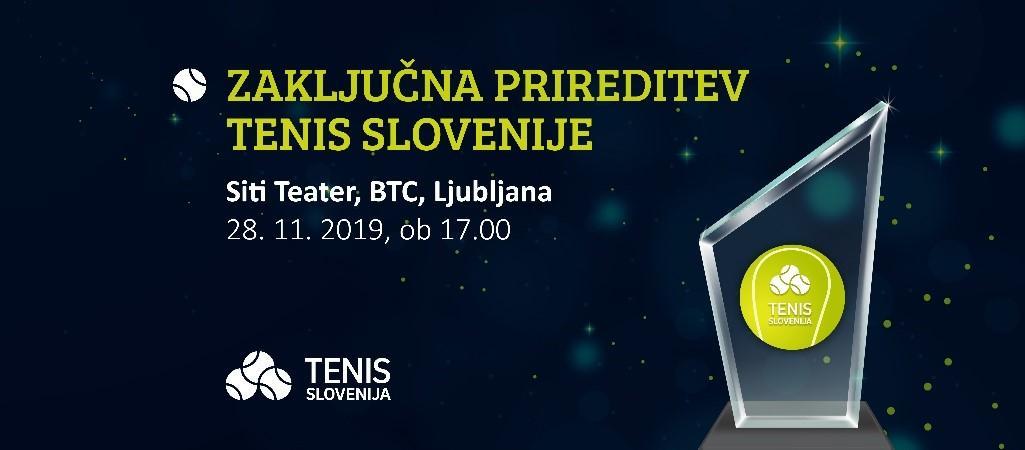 tenis slovenija - Zaključna prireditev Tenis Slovenije