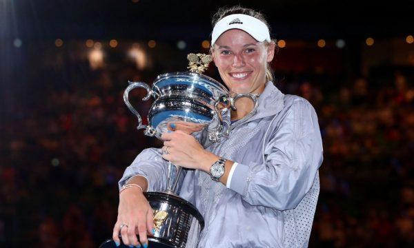 Za Caroline Wozniacki bo OP Avstralije 2020 zadnji turnir v karieri. (Foto: Twitter)