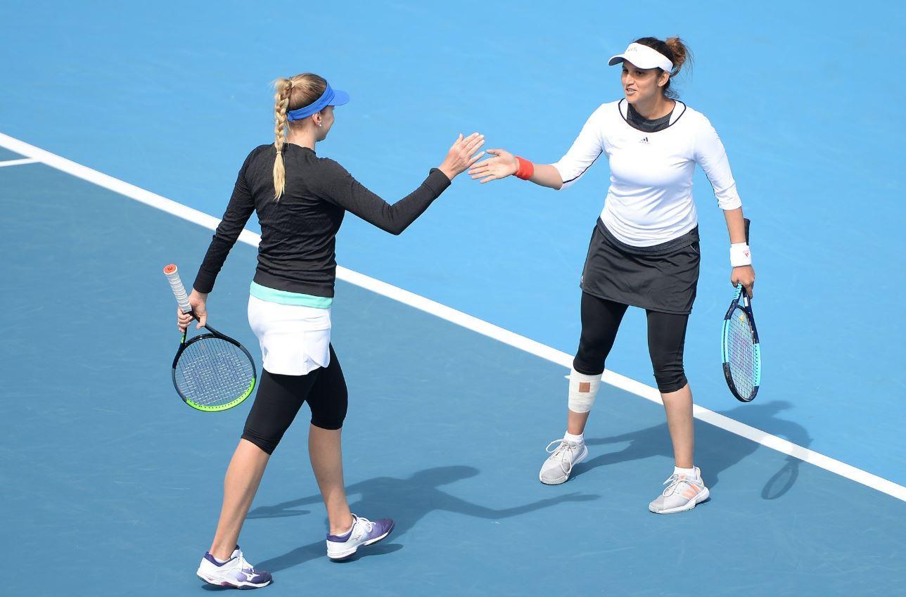 Sania Mirza že kaže znake izjemne tenisačice. (Foto: Twitter)