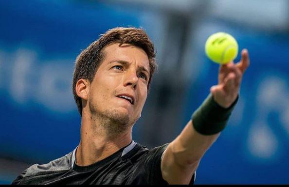 Aljaž Bedene. (Foto: Instagram/Tenis Slovenija)