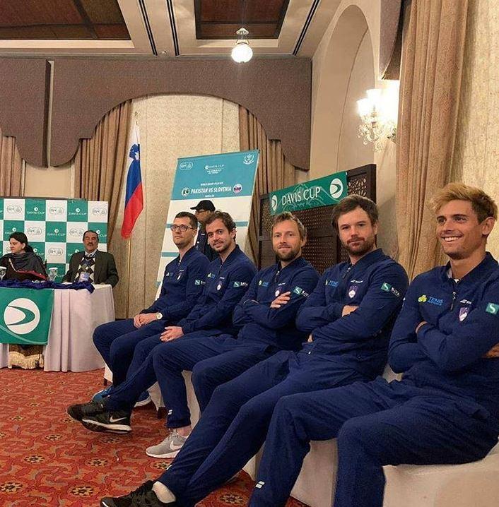 SLo repka - Davisov pokal: Slovenija doma proti Paragvaju