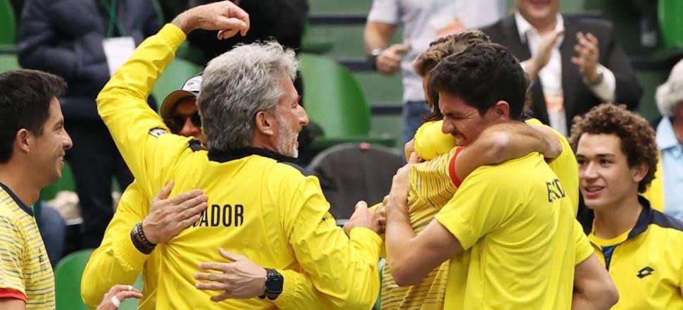 nR5xrCXW5ZHXw4LFK7N1 - Ekvador, Avstralija in Kazahstan v finalnem delu Davisovega pokala