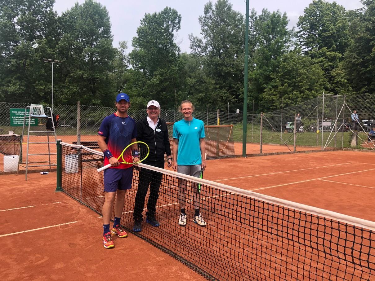 Turnir Radomlje - OP Radomlje: Kolarjeva in Kavčič nista dopustila presenečenja