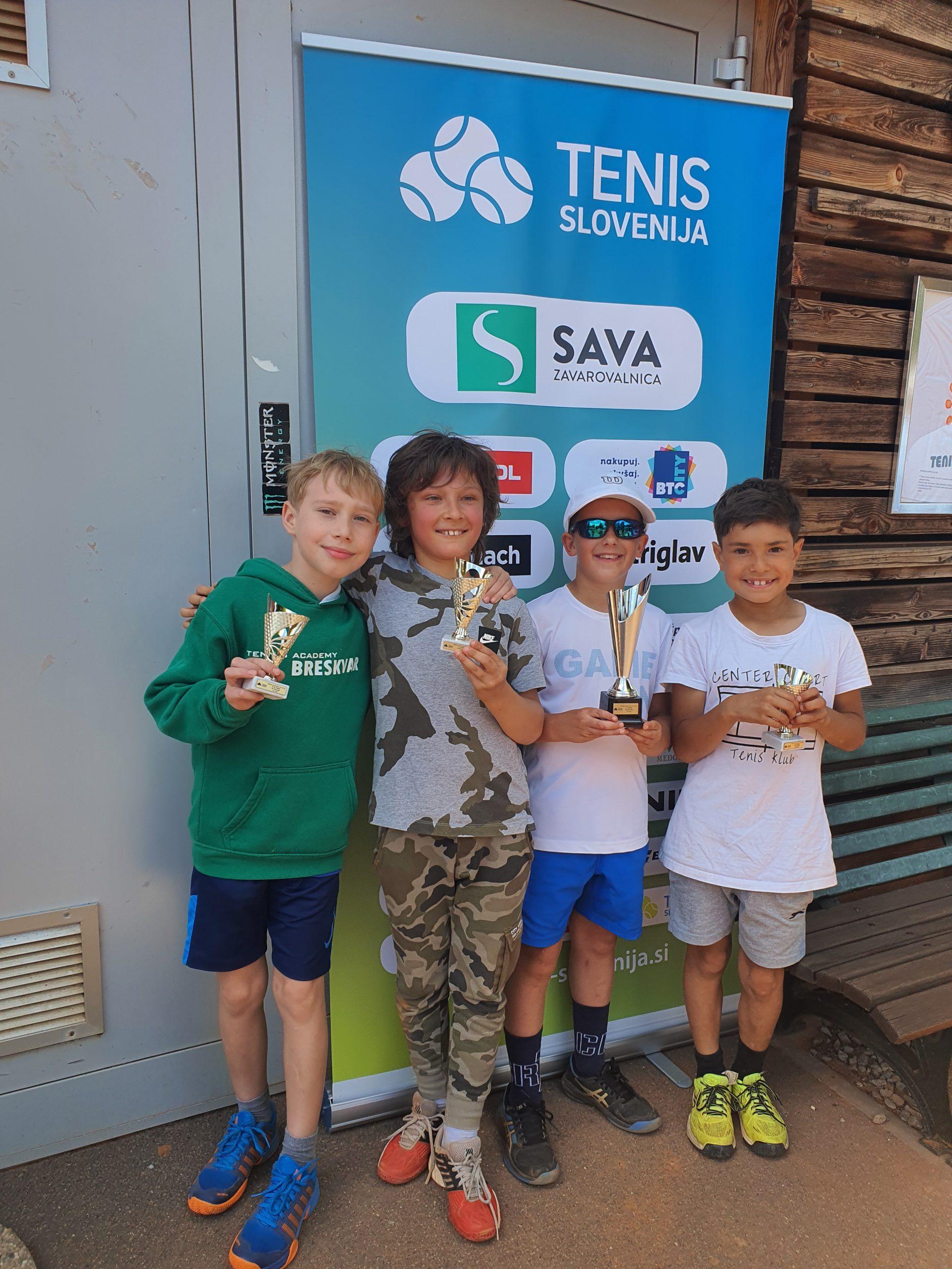tenis turnir dečki 10 NM scaled - U10 in U11: Tekmovalci navdušili z borbenostjo in nepopustljivostjo