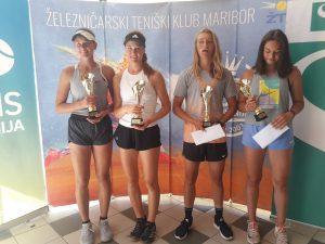 73495149 3045666852207702 5064846763052267 o 300x225 - DP (U16): Dvojna prvakinja Drametova najboljše prihranila za konec, leto 2020 še naprej sanjsko za Artnaka (FOTO)