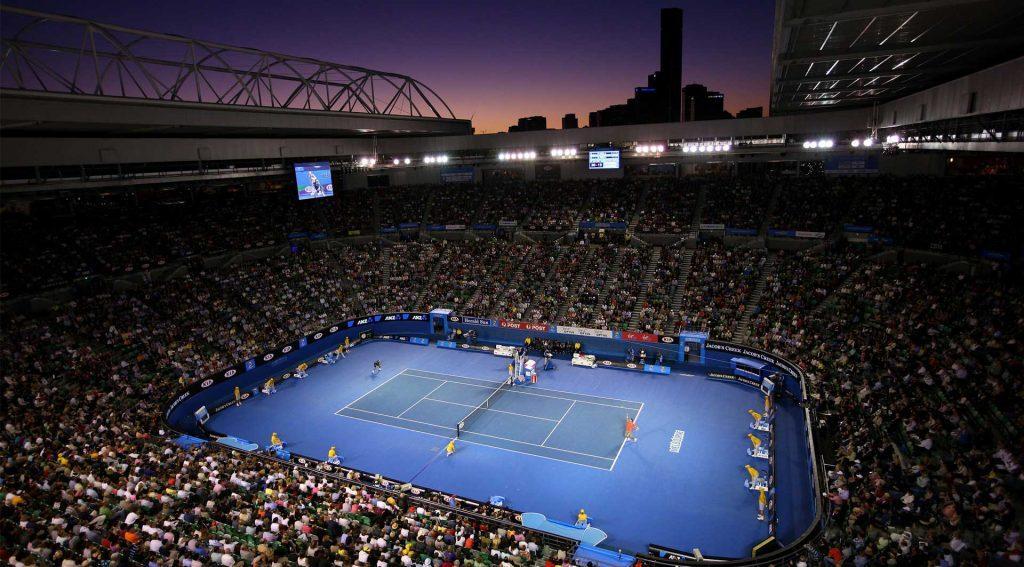 Australian Open 1024x567 - Povzetek teniške sezone 2020; Od okuženega Đokovića do senzacionalne mlade Poljakinje in slovenske prihodnosti