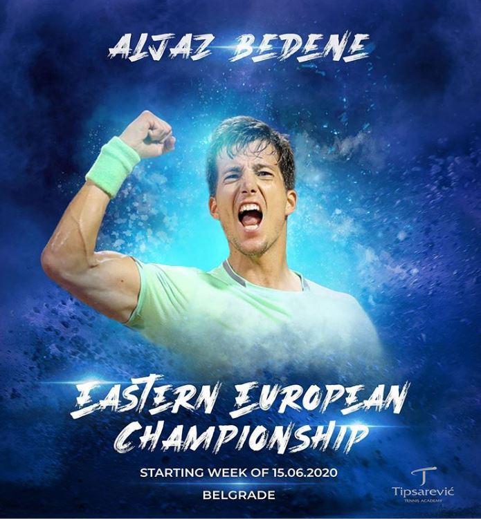 Aljaž Bedene bo za začetek nastopil proti Sergiyju Stakhovskemu. (Foto: Instagram)