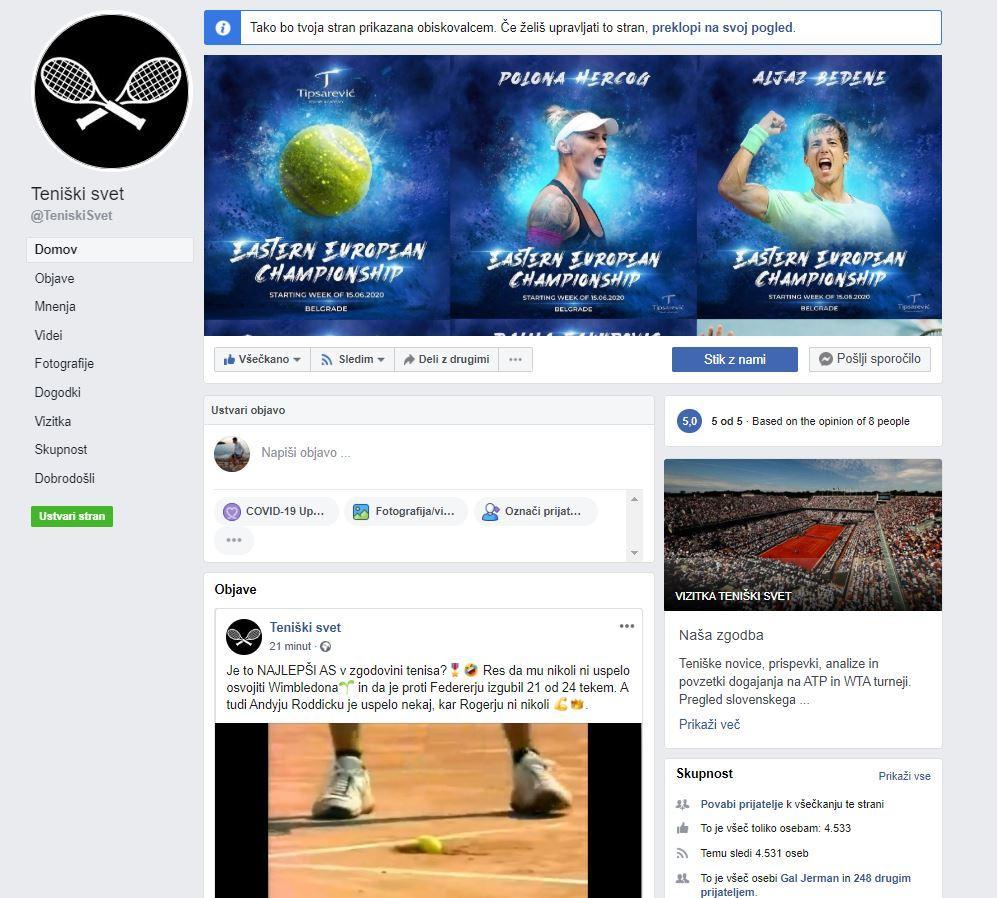 FB 2 - Teniški svet in manjša tehnična sprememba