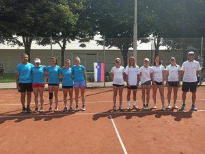 Ptuj 1 300x225 - 1. ženska liga: LTA z Juvanovo na čelu za naslov proti TK Triglav Kranj (FOTO)