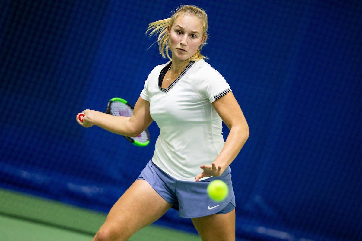 Tjaša Klevišar še korak do naslova državne prvakinje v posamični konkurenci. (Foto: Vid Ponikvar/Sportida)