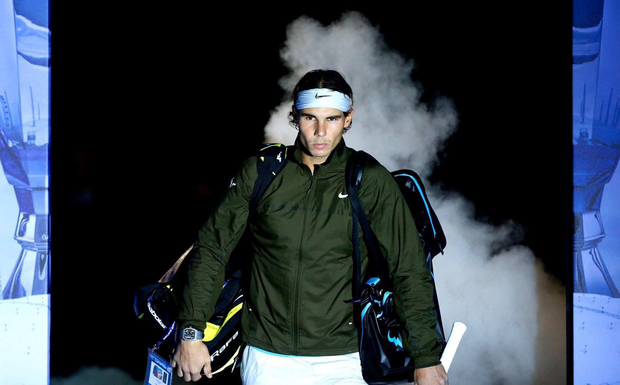 Rafael Nadal 9 - Tako v tenisu kot v življenju, Nadal počne stvari z maksimalno intenziteto