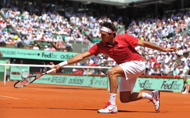 Roger Federer 14 - Preverite, na katerih peščenih turnirjih bo igral Roger Federer!