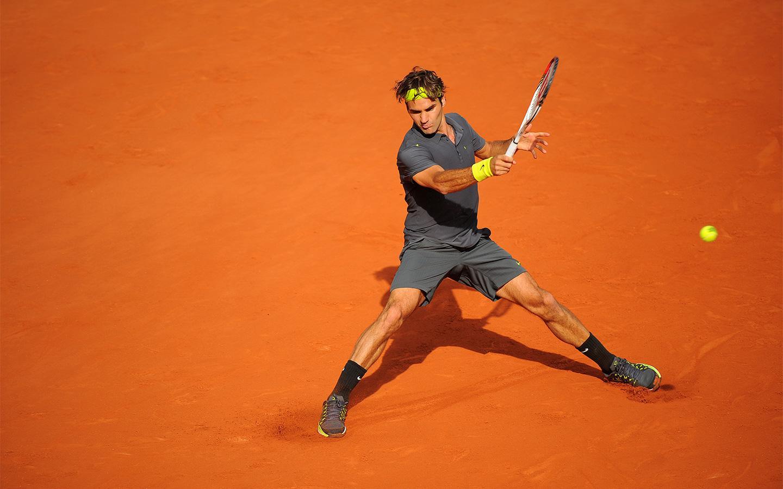 Roger Federer 16 - Federer se na pesek vrača v Madridu