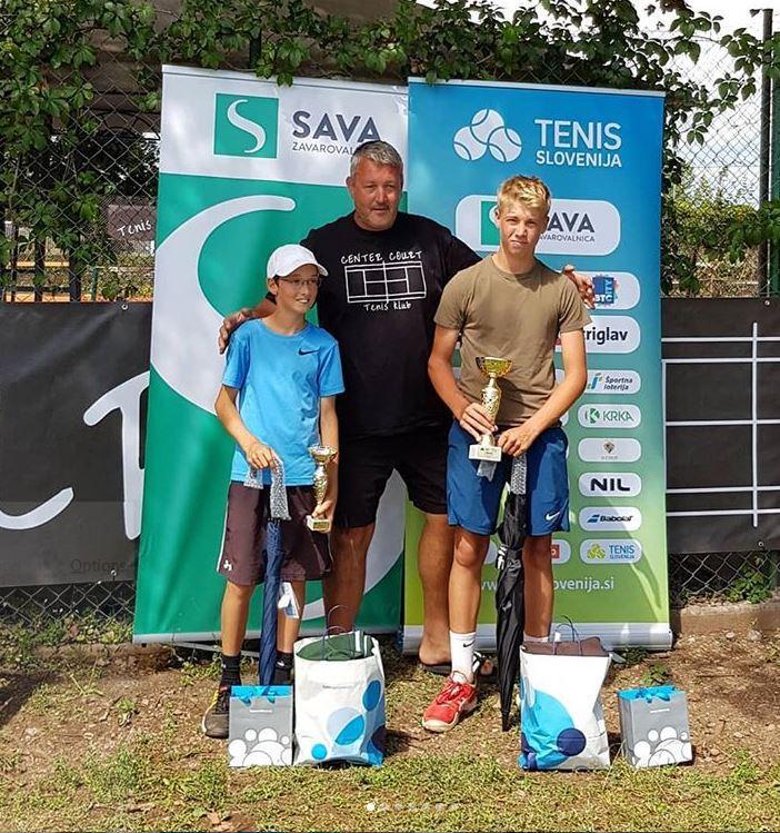 TK CC finalista - U14: Premierni turnir na igriščih TK Center Court Soku, Flerinova najboljša drugič zapored