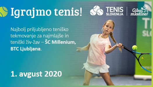TS Igrajmo tenis Web slider 525x300px - Prireditev Igrajmo tenis prestavljena na kasnejši termin